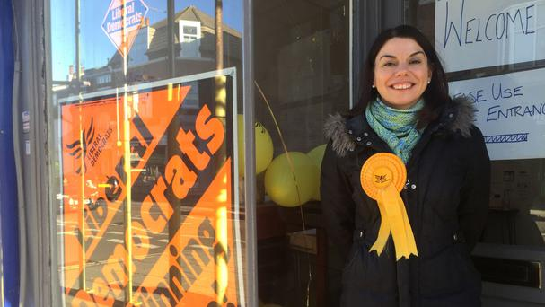 Sarah Olney, Liberal Democrat candidate in the upcoming by-election for Richmond Park