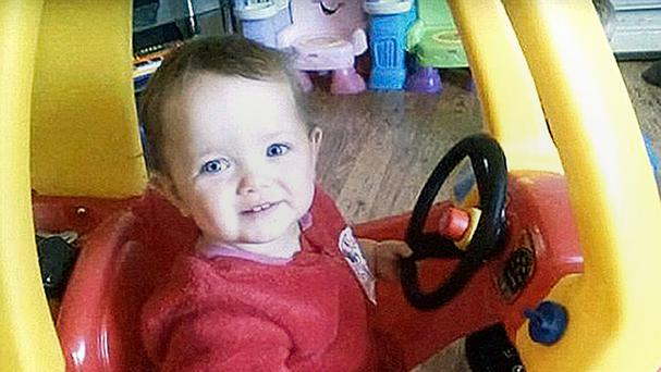 Poppi Worthington died aged 13 months