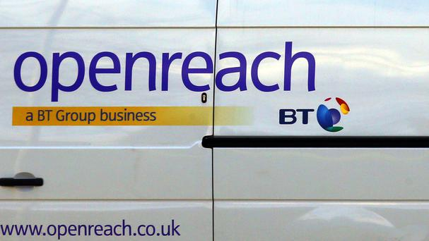 BT's Openreach division develops and maintains the main network used by telephone and broadband providers such as Sky, TalkTalk, Vodafone and BT Consumer.