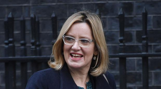 Amber Rudd was making her first address to the College of Policing conference