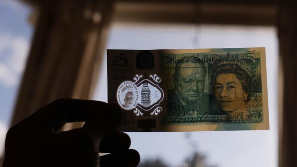 A new polymer-based £5 note contains animal fat