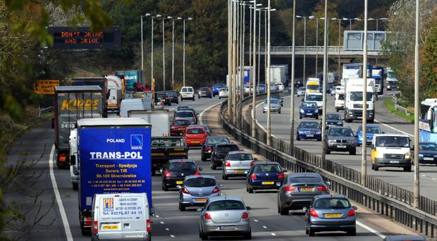 Variable speed limits could help reduce air pollution, health experts said