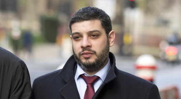 Anthony Constantinou at the Old Bailey