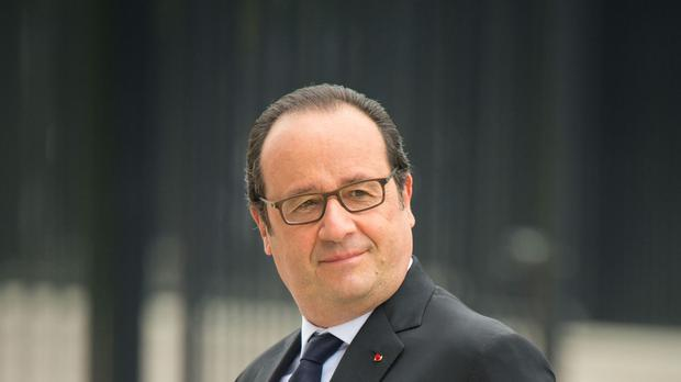 Francois Hollande has been France's president since 2012