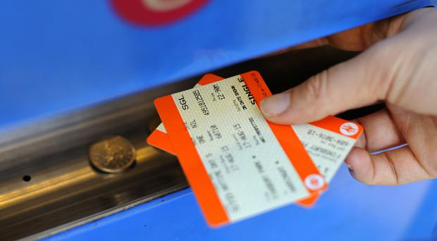 Rail fares will go up by an average of more than 2 per cent next year