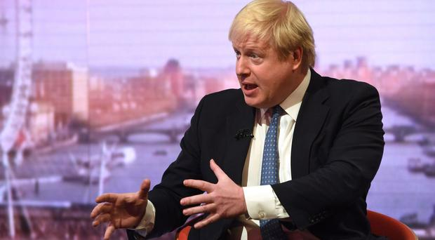 Foreign Secretary Boris Johnson said they were concerned