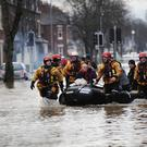 Record levels of rain fell on parts of the UK