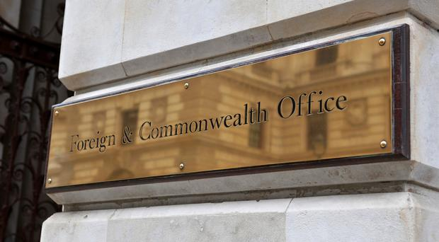 The Foreign Office said it is supporting the woman's family