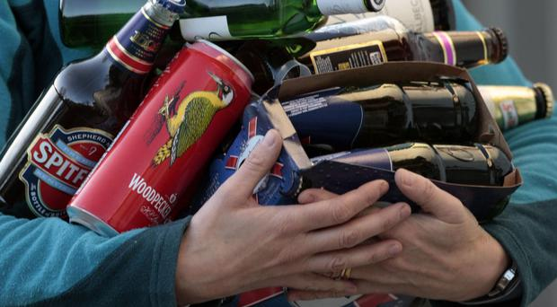 Excessive alcohol consumption is putting an intolerable strain on the emergency services and casualty departments, a report has said