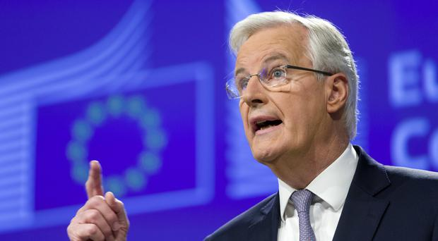 Michel Barnier has refused to rule out the return of a hard border between the Republic and Northern Ireland after Brexit.