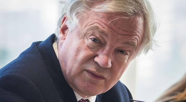 David Davis is also likely to face questions about the apparently accelerating timetable for negotiations