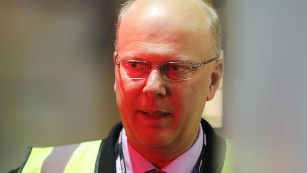 Chris Grayling is now Transport Secretary.