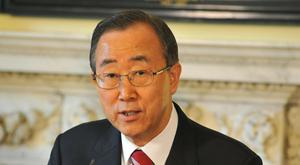 United Nations Secretary-General Ban Ki-moon said war crimes have been committed