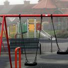 A children's playground in Edlington, close to where the attack took place