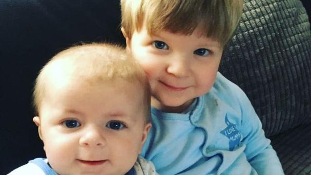 Four-month-old Archie Joe Darby was killed and his 22-month-old brother Daniel seriously injured by the family dog in Colchester (Family handout/PA)