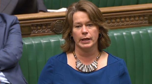 Independent MP Michelle Thomson speaks in the House of Commons, where she moved colleagues to tears after revealing she was raped at 14, saying: 'I'm not a victim, I'm a survivor'