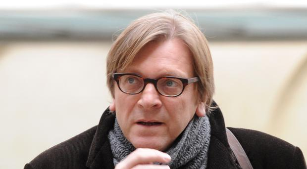 Guy Verhofstadt, the European Parliament's chief negotiator