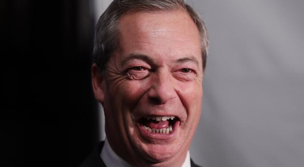 Nigel Farage said leaving no longer being leader means he is freed from having to associate with people he would never choose to have a drink with or employ