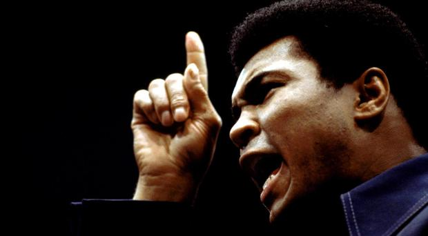 Muhammad Ali wrote to Nelson Mandela with condolences over the death of an anti-apartheid campaigner