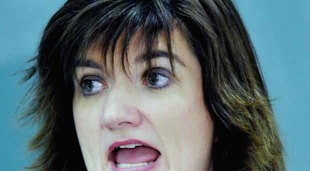 Former education secretary Nicky Morgan was reportedly involved in a text spat with an aide to Theresa May after questioning the Prime Minister's choice of trousers.