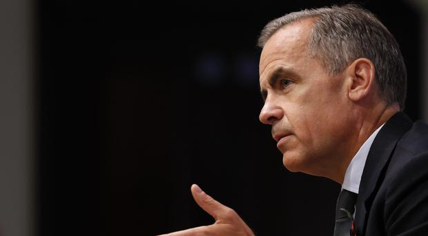 Bank of England governor Mark Carney warned of a 'lost decade'