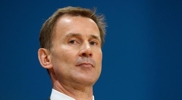 Health Secretary Jeremy Hunt said work was under way to eradicate
