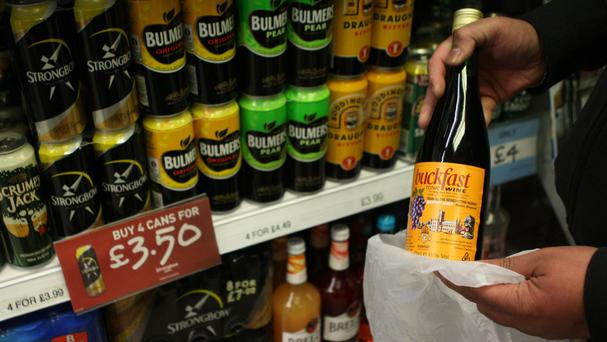The caffeinated drink Buckfast is made at Buckfast Abbey in Devon and is highly popular in parts of Scotland