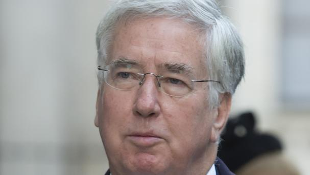 Defence Secretary Sir Michael Fallon said the Syrian forces were being trained in infantry, medical and explosive hazard awareness skills.