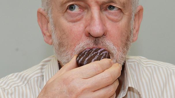 Labour is hoping Jeremy Corbyn's recast image will give the party a bigger slice of the popularity cake