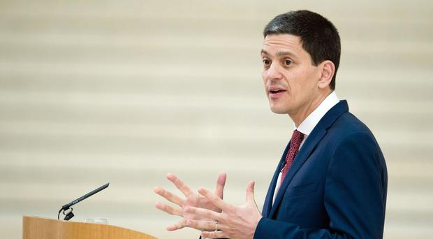 Ex-foreign secretary David Miliband is president of the US-based charity International Rescue