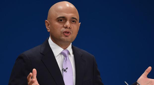 Communities Secretary Sajid Javid says it is impossible to play a