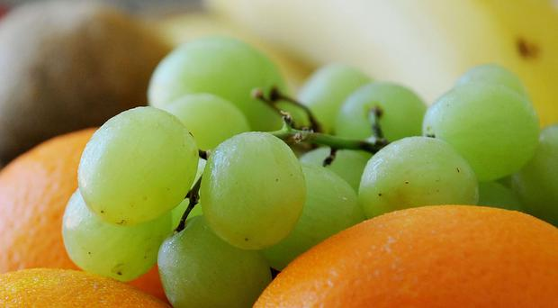 Grapes are ideally designed to block a child's airways, doctors have warned.