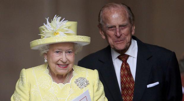 The Queen and Duke of Edinburgh were expected to go by train to King's Lynn and then on to her nearby Sandringham estate