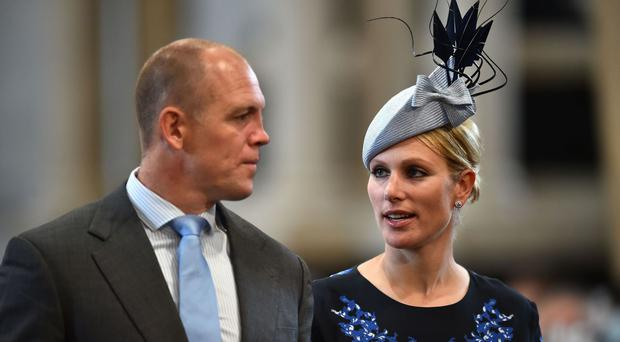 Zara and Mike Tindall have lost their baby