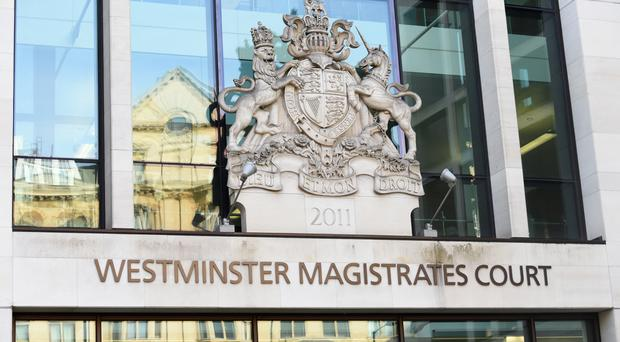 A general view of Westminster Magistrates Court, London.
