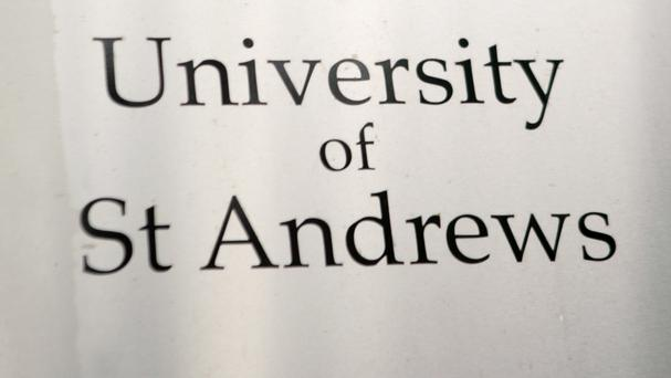 The University of St Andrews said the text will be a