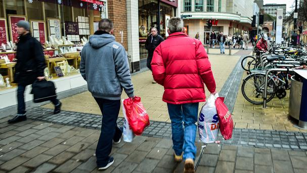 Shoppers will return to the streets for Boxing Day