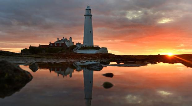 Police were called to the path out to St Mary's Lighthouse, Whitley Bay, North Tyneside
