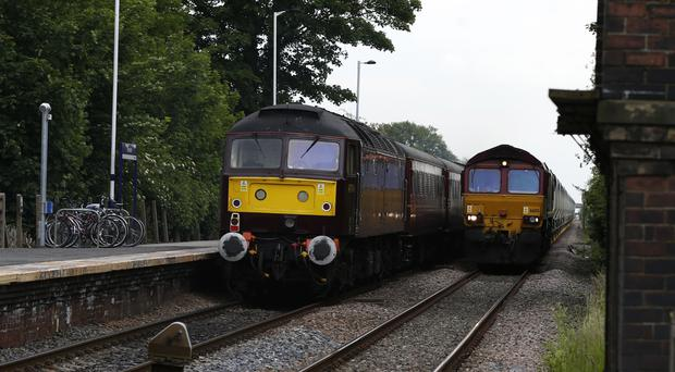 Trains in London and south-east England are typically 19 years old, while 'regional services' are 24 years old