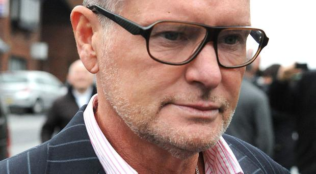 Former England footballer Paul Gascoigne was taken to hospital with a head injury