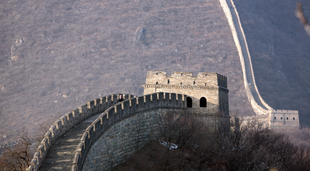 The Great Wall of China, as the Church of Scotland unearths an historic document ordering the Liaoyang government to protect Christian activities