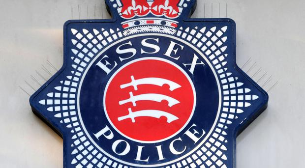 The car was being followed by a marked Essex Police vehicle