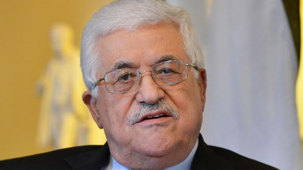 Palestine's president Mahmoud Abbas 'ready to resume talks if settlement construction stops'