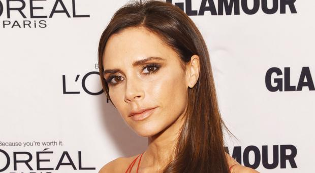 Victoria Beckham is being honoured for contribution to fashion and charity