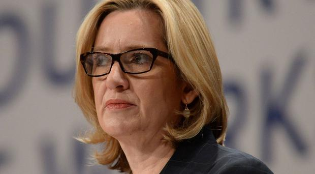 Legal challenge: Home Secretary Amber Rudd