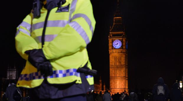Armed police will join around 3,000 officers on the streets of London on Saturday as hundreds of thousands of people flock to watch the mayor's firework display