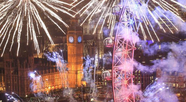 Revellers in London expect to spend the most on New Year's Eve at £88 per person on average