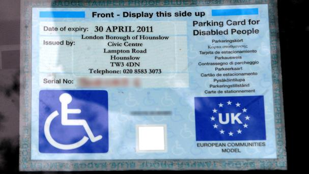A total of 98% of blue badge misuse cases involved drivers using someone else's badge