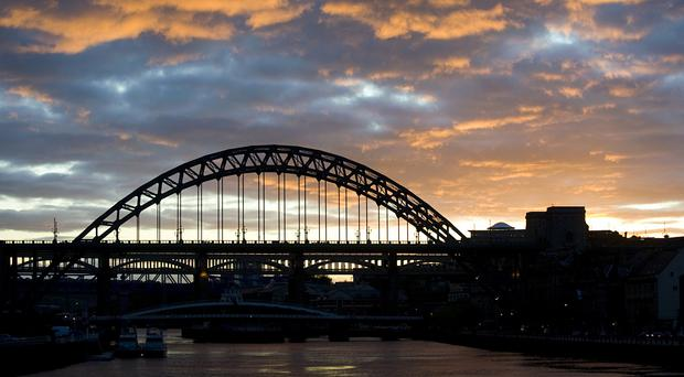 The Tyne Bridge was opened in October 1928 and links Newcastle and Gateshead