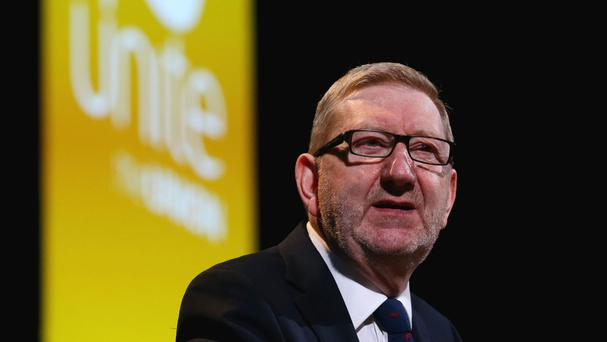 Unite union chief Len McCluskey said Jeremy Corbyn and shadow chancellor John McDonnell were